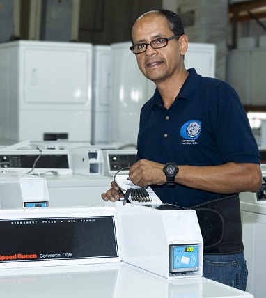 commercial laundry equipment maintenance in Orlando