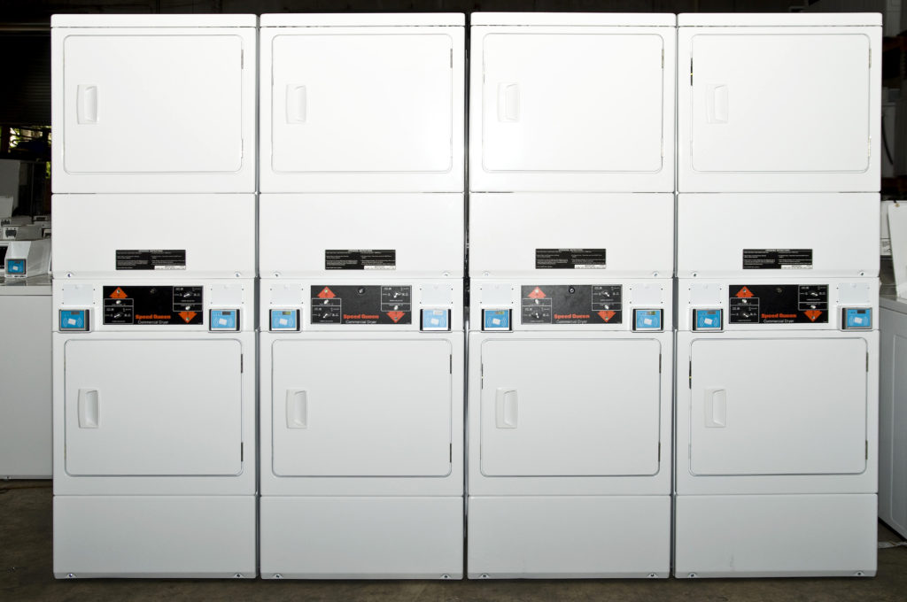 card operated laundry equipment