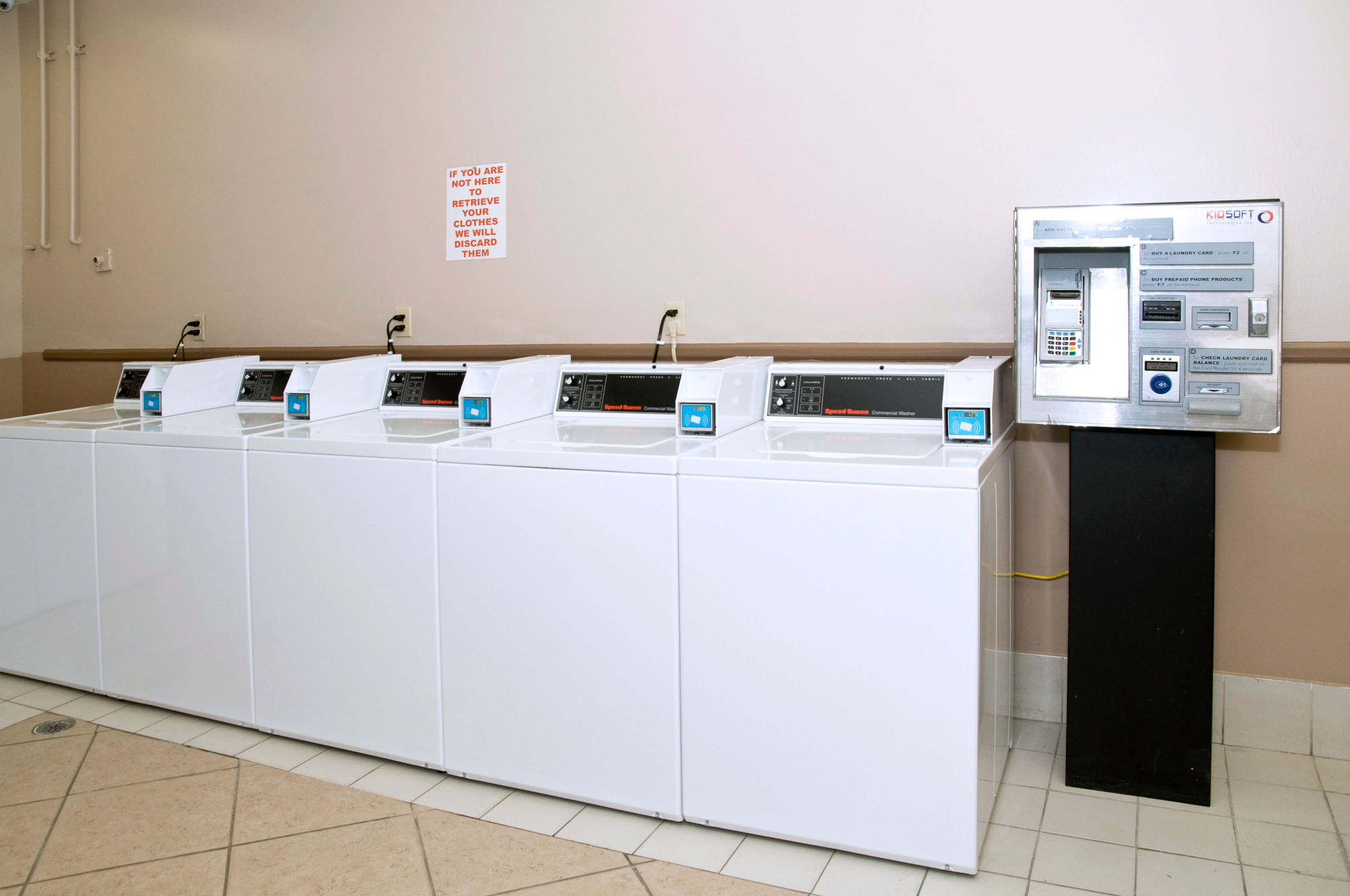 laundry equipment suppliers