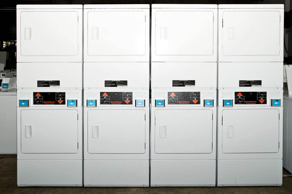 Refurbished Coin Operated Laundry Machines | Commercial