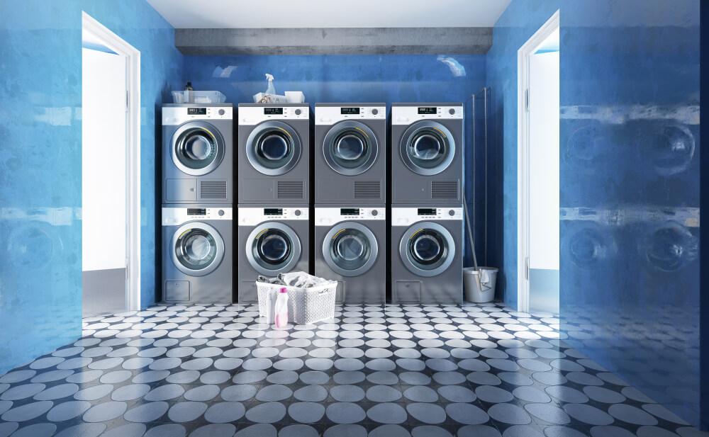 coinless laundry machines