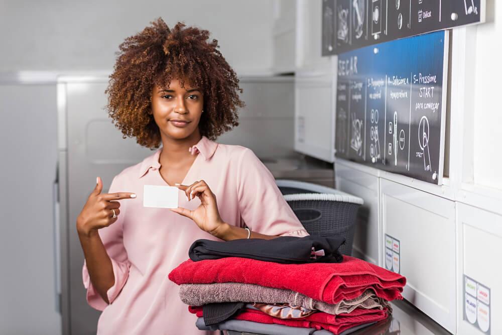 Card Operated Laundry Machine