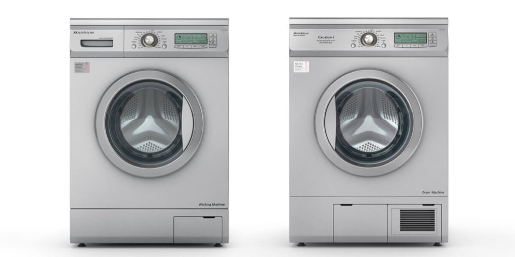Credit card washing machine and dryers for sale | Commercial Laundries Orlando
