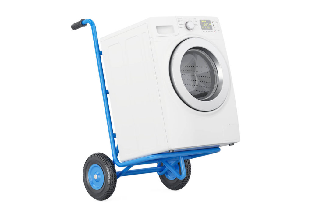 rent card operated laundry equipment