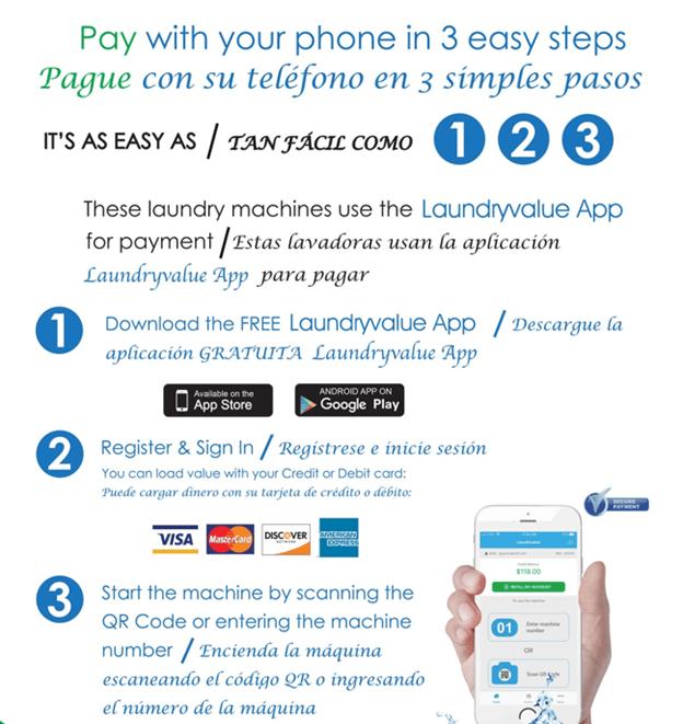 Cashless Laundry Payment App
