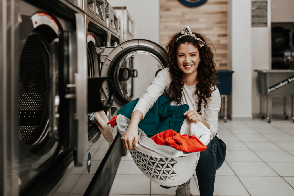 lease commercial laundry equipment for my property