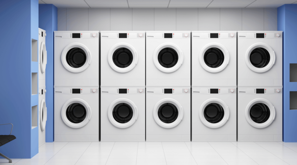 Stackable Card Operated Washers and Dryers for Sale
