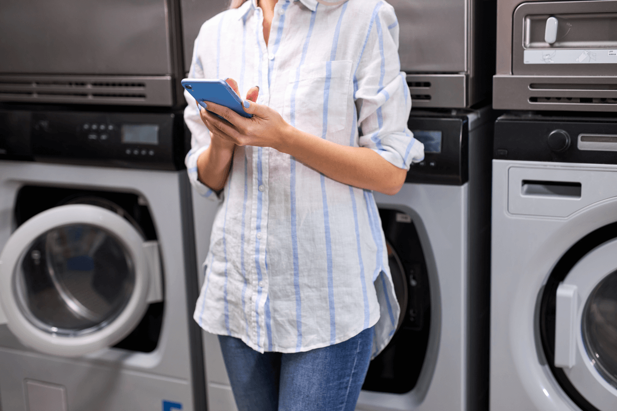 Smart Phone App Laundry Payment Systems